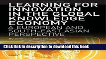 Books Learning for Innovation in the Global Knowledge Economy: A European and Southeast Asian