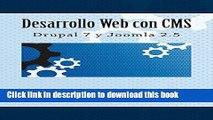 Ebook Desarrollo Web con CMS: Drupal 7 y Joomla 2.5 Free Online