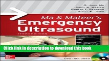 Ebook Ma and Mateer s Emergency Ultrasound, Third Edition Full Online