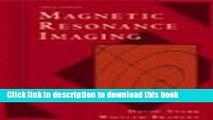Books Magnetic Resonance Imaging Free Download