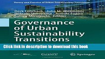 [PDF] Governance of Urban Sustainability Transitions: European and Asian Experiences (Theory and