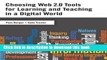 Ebook Choosing Web 2.0 Tools for Learning and Teaching in a Digital World Full Download