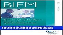 [Download] BIFM - Paper 12: Quality Management: Workbook (British Institute of Facilities