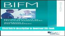[Read  e-Book PDF] BIFM - Paper 6: Risk Management: Workbook (British Institute of Facilities