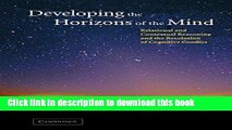 Ebook Developing the Horizons of the Mind: Relational and Contextual Reasoning and the Resolution