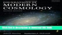 Books Foundations of Modern Cosmology Full Online