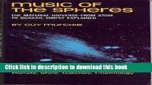 Ebook Music of the Spheres: The Material Universe from Atom to Quasar, Simply Explained Full