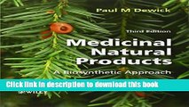 Ebook Medicinal Natural Products: A Biosynthetic Approach Free Online