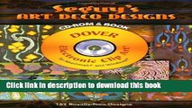 Ebook Seguy s Art Deco Designs CD-ROM and Book (Dover Electronic Clip Art) Free Online