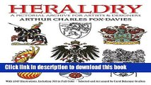 Books Heraldry: A Pictorial Archive for Artists and Designers (Dover Pictorial Archive) Free Online