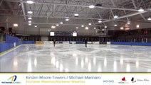 Kirsten Moore-Towers Michael Marinaro 2016 Championnats québécois d'été - SP