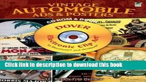 Books Vintage Automobile Ads and Posters CD-ROM and Book (Dover Electronic Clip Art) Full Online