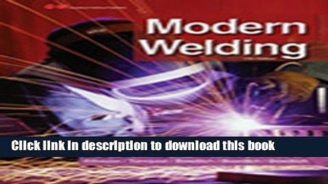 Ebook Modern Welding Full Online