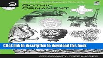 Ebook Dover Digital Design Source #9: Gothic Ornament (Dover Electronic Clip Art) Full Online