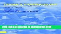 [Read PDF] Pharmacology: Drug Actions and Reactions (PHARMACOLOGY- DRUG ACTIONS   REACTIONS