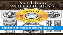 Ebook Art Deco Wood Designs CD-ROM and Book (Dover Electronic Clip Art) Free Online