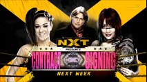 Contract Signing On Next Week's Episode Of NXT Between Bayley and Asuka