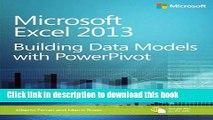 Ebook Microsoft Excel 2013 Building Data Models with PowerPivot (Business Skills) Full Online