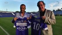Oliver Stone en visite au Stade Armand-Cesari