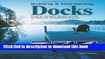 Books Building   Maintaining Docks: How to Design, Build, Install   Care for Residential Docks