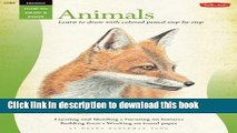 Ebook Drawing: Animals in Colored Pencil: Learn to draw with colored pencil step by step (How to