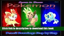 Books Learn to Draw Pokemon: Pencil Drawings Step by Step Book 1 [B/W]: Pencil Drawing Ideas for