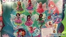 Poupées Winx Club Butterflix Fairies Fées Tecna Musa Stella