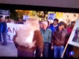 Manifestación Oviedo 28/11/13  TVE-Asturias