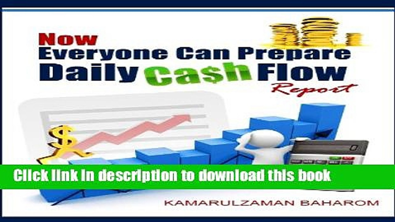 Now Everyone Can Prepare Daily Cash Flow Report For Free Video Dailymotion