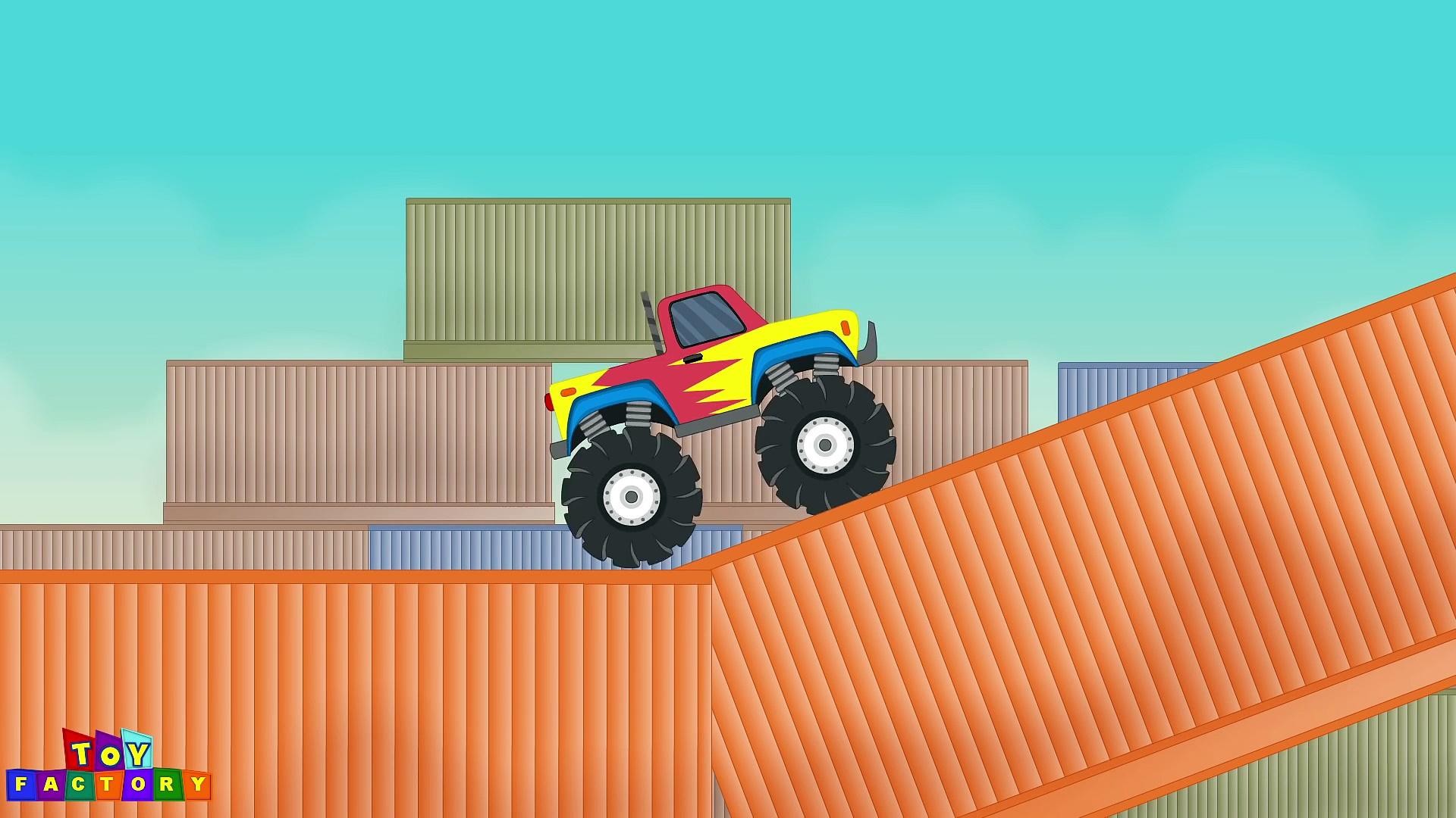 Trucks for children – monster trucks kids