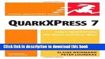 [Read PDF] QuarkXPress 7 for Windows   Macintosh Ebook Free