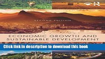 Books Economic Growth and Sustainable Development Full Online
