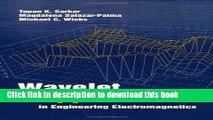 Ebook Wavelet Applications in Engineering Electro- magnetics Free Online