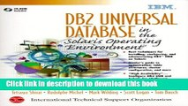 [Download] DB2 Universal Database in the Solaris Operating Environment  Read Online