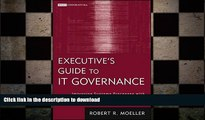 FAVORIT BOOK Executive s Guide to IT Governance: Improving Systems Processes with Service