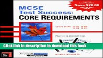 [Popular] Book MCSE: Test Success: Core Requirements Free Download