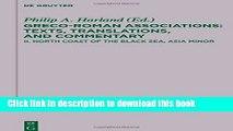 Books North Coast of the Black Sea, Asia Minor Free Online
