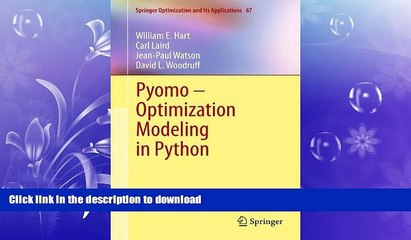 Pyomo Resource | Learn About, Share and Discuss Pyomo At