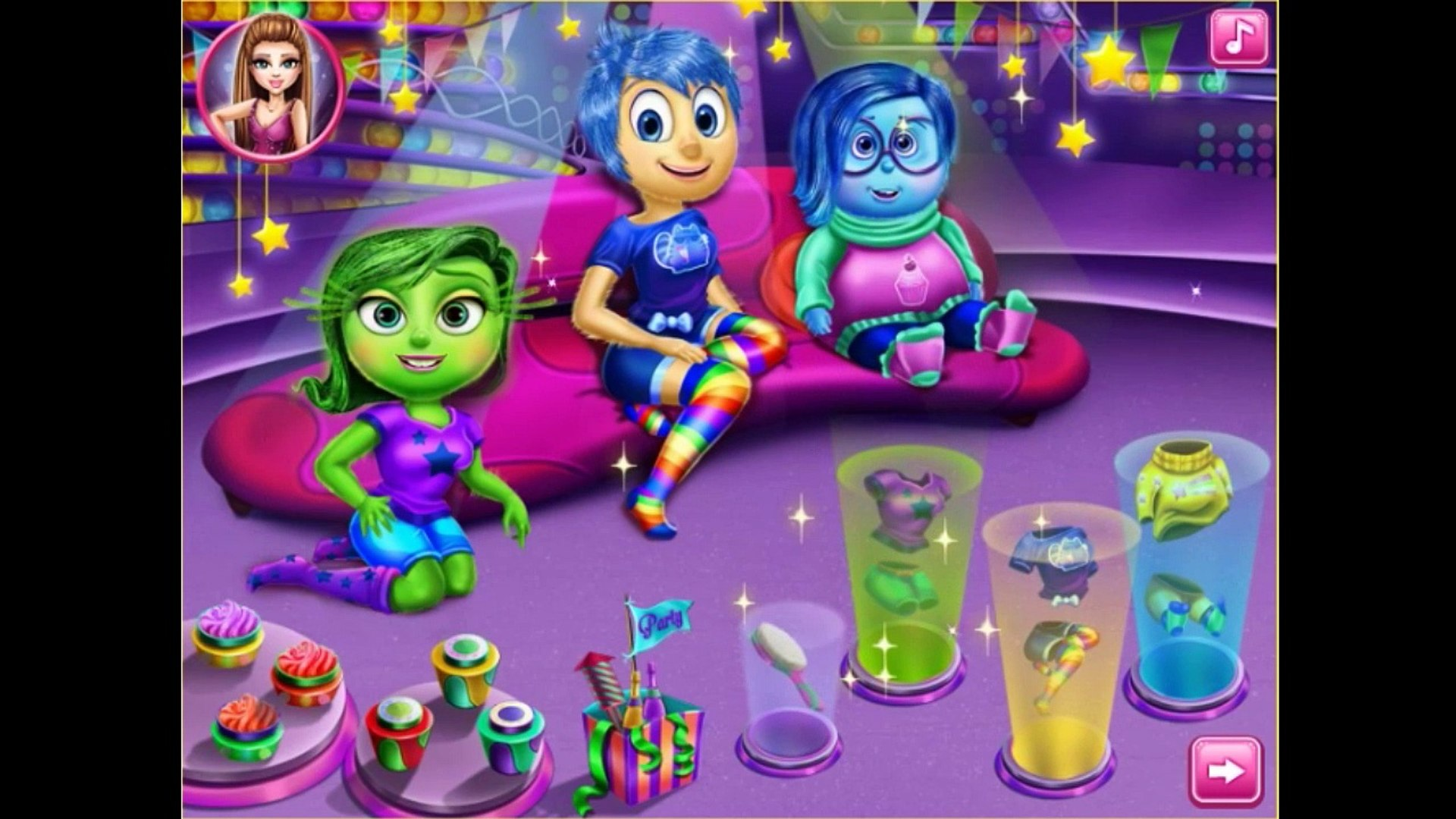 Inside Out Movie Game Games For Kids Free Online Games Video Dailymotion