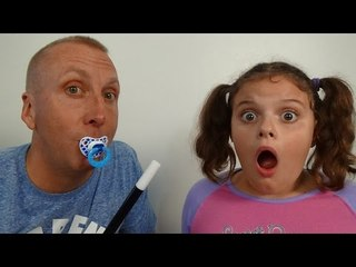 Bad Baby Freak Daddy & Victoria 'Toy Freaks Messy Annabelle' - Funny Video -