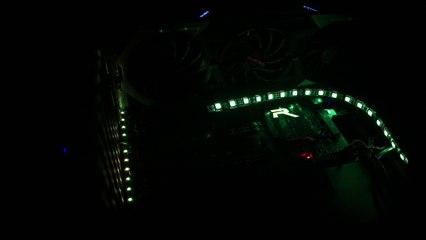 BIOSTAR RACING Z170 GT7 Lighting Demo