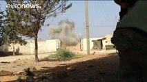 Los rebeldes sirios rompen el cerco impuesto por el régimen en Alepo