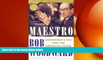 FREE PDF  Maestro: Greenspan s Fed and the American Boom (Greenspan, Alan)  DOWNLOAD ONLINE