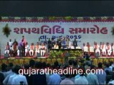 Vijay Rupani & Nitin Patel's oath as CM, Dy CM of Gujarat in Gandhinagar