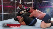 The Undertaker vs. Brock Lesnar - Hell in a Cell Match- WWE Hell in a Cell 2015[by View1TV]