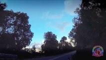 Timelapse sur la route entre Ajaccio et Sartene en Corse du sud ( Corsica )