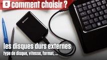 Comment bien choisir son disque dur externe ?