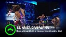 Sasha Banks slides on WWE Power Rankings- Aug. 6, 2016