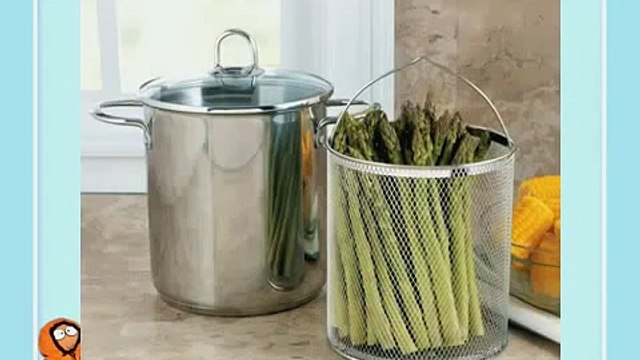 Best CHEFS 3-Piece Asparagus Steamer Chef Asparagus Cooker Kitchen amp Review