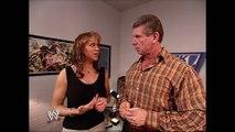Stephanie McMahon & Vince McMahon & Sable Backstage SmackDown 07.03.2003 (HD)